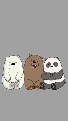 we bare bears wallpapers & wallpapers on wall _ wallpapers on wall bedrooms _ wallpapers iphone fondos _ aesthetic wallpapers _ iphone wallpapers _ we bare bears wallpapers _ pubg wallpapers _ cute wallpapers aesthetic Cute Panda Wallpaper, Bear Wallpaper, Cute Disney Wallpaper, Kawaii Wallpaper, Cute Wallpaper Backgrounds, Wallpaper Iphone Cute, Trendy Wallpaper, Best Wallpapers Android, Panda Wallpapers
