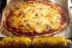Universo d@s Amig@s: Pizza da Ania (com recheio de tofu)!