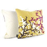 There are other colors for this pillow!! Found it at Wayfair - Spa Coral Suede Throw Pillow