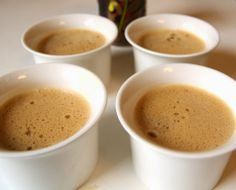 Flans au Café - Coffee Flans (Gluten Free) - Very easy to make, only a few ingredients