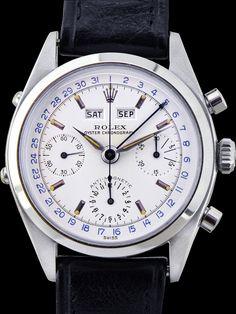 Rolex Jean Claude Killy Steel. Référence : 6236. Année : 1961. ©thebeautifulwatch.com