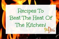 When it is hot, no one wants to be in a hot kitchen! Here are a few simple recipes that are either no cook, or just use the grill! Chicken Souvlaki With Homemade Tzatziki Sauce After our family vis… Simple Recipes, Summer Recipes, Homemade Tzatziki Sauce, Chicken Souvlaki, Beat The Heat, Beats, Food To Make, Easy Meals, Cooking