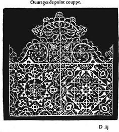 Italian Needlework: Different Styles of Reticello - Part Four Drawn Thread, Thread Work, Needle Lace, Bobbin Lace, Lacemaking, Collar And Cuff, Different Styles, Crochet, Needlepoint