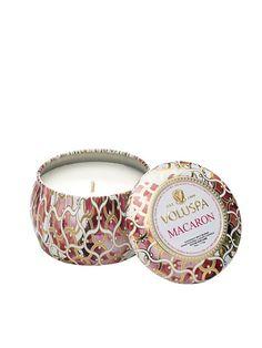 Macaron Decorative Tin Candle
