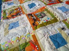 African animal quilt