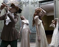 Pied Piper or Twelve Dancing Princesses (possibly my favorite fairy tale)-Once Upon A Blog...: Eugenio Recuenco's Fashionable Fairy Tales