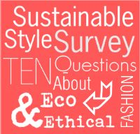 Market research survey #sustainablestyle