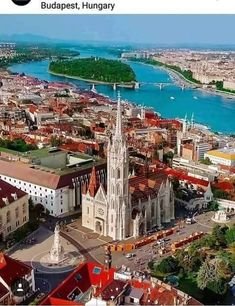Aerial view of Nemzeti Vágta, Heroes Square, Budapest. Places Around The World, Travel Around The World, Around The Worlds, Lonly Planet, Places To Travel, Places To Visit, Capital Of Hungary, Budapest Travel, Belle Villa