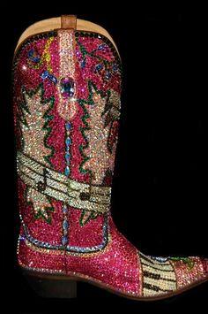 Jaqui bling boots