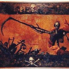 Dance of death, Antoni Gruszecki, 1767