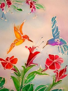 You can use a glue gun for various projects, but here's a way to use a glue gun to make colourful wall art