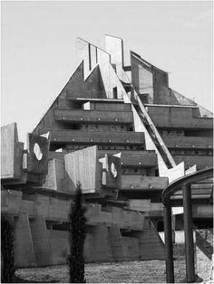 Pallazo de Giustizia di Savona, Leonardo Ricci , 1987