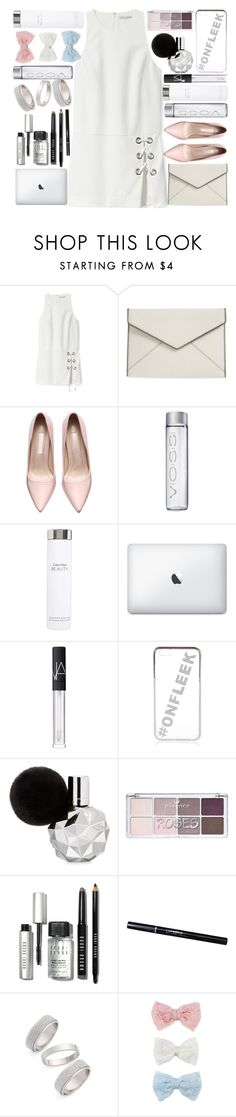 """Midnight"" by itaylorswift13 ❤ liked on Polyvore featuring Rebecca Minkoff, Calvin Klein, NARS Cosmetics, River Island, Bobbi Brown Cosmetics, Topshop, Decree, women's clothing, women and female"