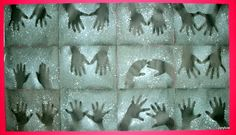 """Tippytoe Crafts: Negative Art   Might be fun for """"shadows"""" - Groundhog Day?"""