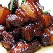key to authentic hongshao rou, or red-braised pork, is to use two different types of soy sauce — light and dark.The key to authentic hongshao rou, or red-braised pork, is to use two different types of soy sauce — light and dark. Pork Recipes, Asian Recipes, Cooking Recipes, Ethnic Recipes, Asian Pork Belly Recipes, Hawaiian Recipes, Humba Recipe Pork, Pork Pieces Recipes, Thit Kho Recipe