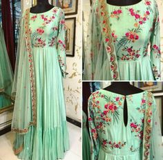 Book ur dress now Completely stitched outfits in all colours like ✔ comment✔ share✔ tags✔ For booking ur dress plz dm or whatsapp at 91 7838855066 Kurta Designs, Saree Blouse Designs, Indian Designer Outfits, Designer Dresses, Indian Dresses, Indian Outfits, Heavy Dresses, Anarkali Dress, Anarkali Suits