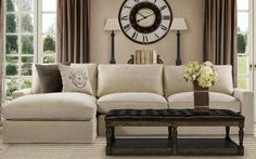 My new sofa will look similar to this but it will be a light gray fabric.