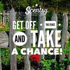 it could change your life! #lifechanging #takeachance #lifeisaboutchances #scentsy #joinme