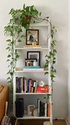 Bedroom Plants Decor, Room Ideas Bedroom, Diy Bedroom Decor, Living Room Decor, Diy Home Decor, Living Room Plants Decor, Plant Wall Decor, Decor Room, Home Decor With Plants