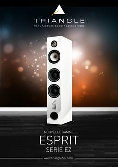 Triangle Esprit Ez : une nouvelle série d'enceintes au design épuré