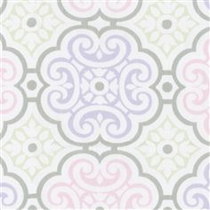 Lilac and Pink Nyle...cute baby fabric
