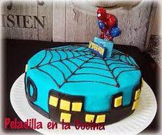 Resultado de imagen de tarta spiderman