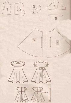 Pola baju anak