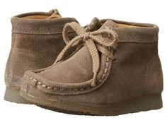 Clarks Kids Wallabee (Toddler) Taupe Dist - Zappos.com Free Shipping BOTH Ways