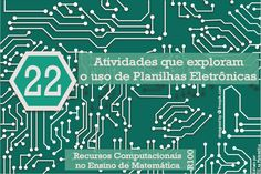 22 atividades que podem ser ensinadas explorando planilhas eletrônicas