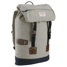 Tinder 25L Ticking Stripe backpack for men by Burton.