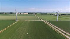 Windmills #windmill #windmills #farms #zeedijk #windmolen #seadike #fryslan #netherlands #marrum #dronestragram #dronefilm #drone #dronefly #aerial #parrot #parrotbebop2 #bebop #bebop2 #footage #dronefootage #dronelife #skyview #energy #greenenergy #skyhigh