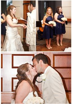 Tallahassee Wedding | A Bright Photography | Lobby Ceremony | missionsanluis.org