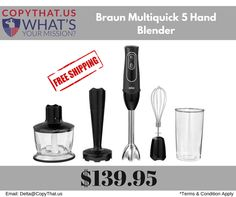 Copythat.us offer Philips Norelco SensoTouch 1160X Shaver with GyroFlex 2D Features: 1)Extra light ergonomic design for maximum flexibility. 2)Durable stainless-steel blades and unique bell shaped blending shaft for fast and finer results. 3)EasyClick attachments ensure simple removal and attachment in one click. 4)Turbo boost function for added power.  5)Soft rip for comfortable use. For more Information Visit:- https://www.copythat.us/braun-multiquick-5-hand-blender-mq537