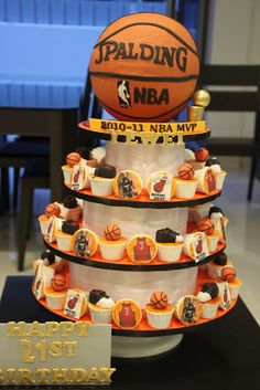 Basketball Party - great idea to adapt for your team!