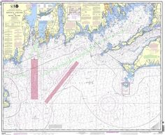 NOAA Nautical Chart 13218: Martha's Vineyard to Block Island