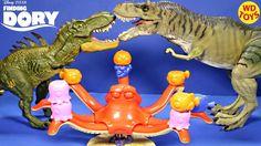 New Finding Dory Disney,Pixar Don't Wake Hank Vs Jurassic World Dinosaur...