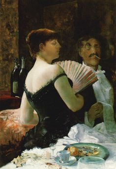 James McNeill Whistler at a Party, circa 1880 by Ralph Wormeley Curtis (American, James Abbott Mcneill Whistler, John Singer Sargent, Paintings I Love, Art For Art Sake, Magazine Art, American Artists, Oeuvre D'art, Impressionism, Female Art