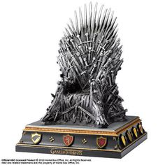 Game of Thrones Buchstütze Eiserner Thron 19 cm - Iron Throne