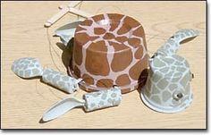 Make a trash puppet (Sea turtle marionette)
