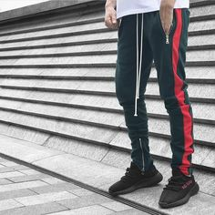 Zip Track Pants 25 colors available.  Choose your best outfits from @urkoolwear. High quality best style and best price.  order at www.urkoolwear.com  worldwide shipping. Low Shipping fee. Join our refer friends program to get free clothes or good discount check the details in our website.