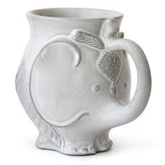 Coffee cups mugs and tea on pinterest owl mug tea cups and coffee mugs - Jonathan adler elephant mug ...