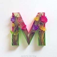 © Sabeena Karnik - Quilled ABCs 1 (Searched by Châu Khang)