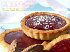Biscuits-Tartelettes Amandes & Framboises - Eryn et sa folle cuisine Biscuits, Muffins, Macarons, Coco, Fondant, Cheesecake, Pie, Favorite Recipes, Fruit
