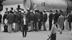 El Al flight at Munich-Riem Airport