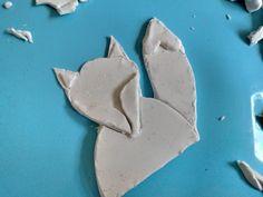 Vos maken van klei   vos klei   vos maken   dieren kleien   klei tekeningen   herfst dieren   kleien   creall klei   creatief met klei Cookie Cutters