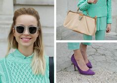 LOVE could be mint & purple!