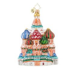 Christopher Radko Ornament Fancy Cupola Church 1018013
