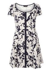 Lily Floral Placket Dress