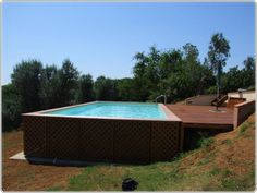 Backyard Above Ground Pool Landscaping Ideas landscaping is easy get ideas and designs over 7000 high resolution photos and above ground pool Above Ground Pool Design Ideas With Extraordinary
