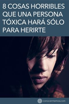 8 cosas horribles que una persona tóxica hará sólo para herirte #mente #autoayuda #psicologia #inspiracion #bienestar #desarrollopersonal Codependency Recovery, Black And White Face, Life Learning, Spiritual Messages, Coach Me, Toxic People, Psychology Facts, Emotional Intelligence, Life Motivation